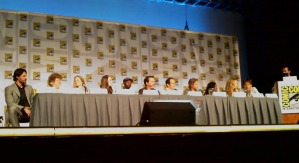 panel de personajes de true blood en comic con